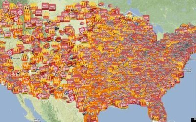 "The Huffington Post Features PeekAnalytics' National ""Burger Map"""