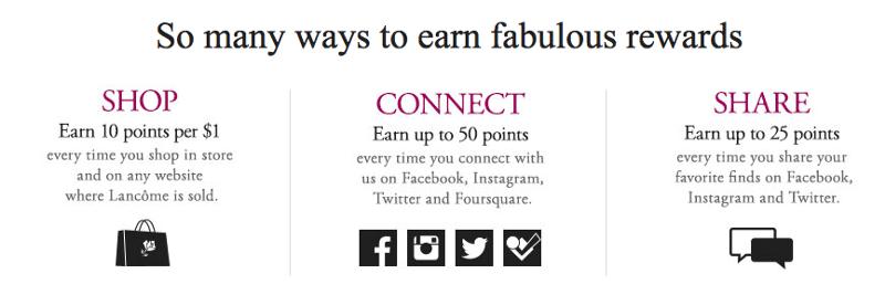 Lancôme Launches Social Media Rewards Program