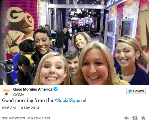 Good Morning America's #SocialSquare