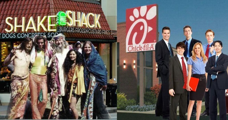 Shake Shack vs Chick-fil-A — Social Fans Edition — Part III