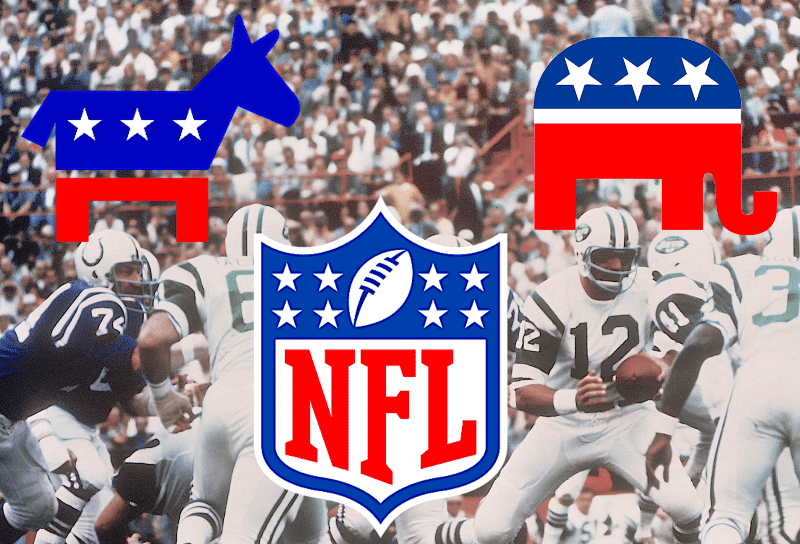 The Political Leanings of Every NFL Team's Fans