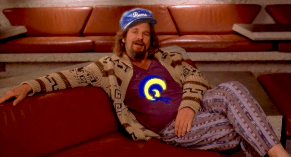 The Dude Abides: Icon Returns for SB LIII Ad & Rams Fans Care the Most