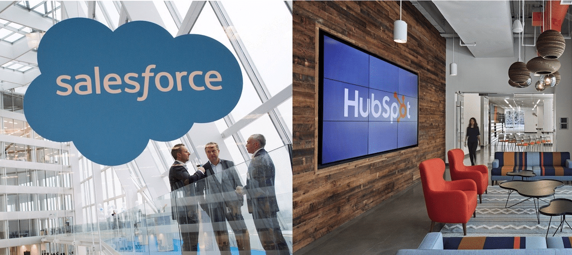 Salesforce vs. HubSpot — Customer Comparison