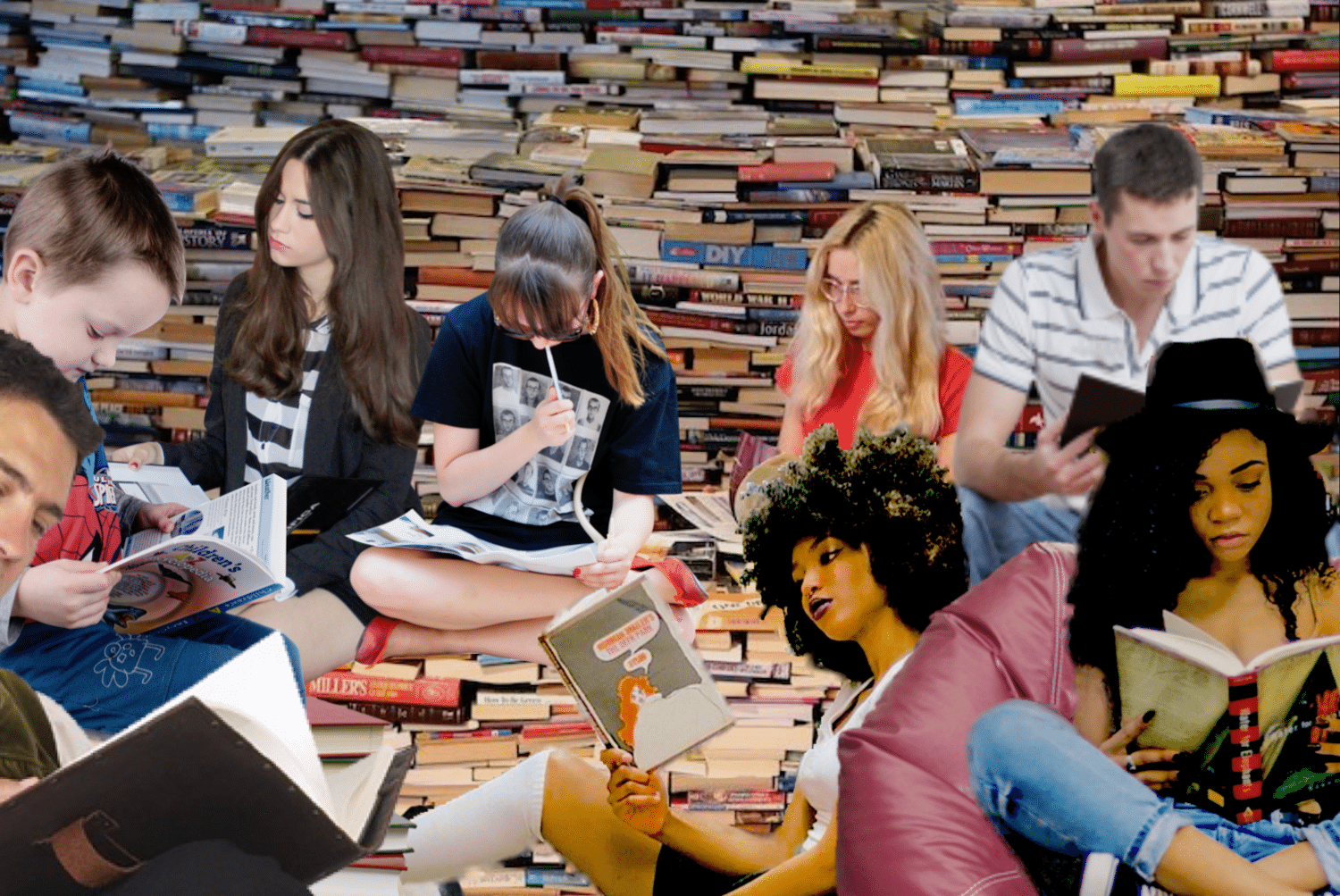 StatSocial Digital Tribes   —  Reading is Fundamental