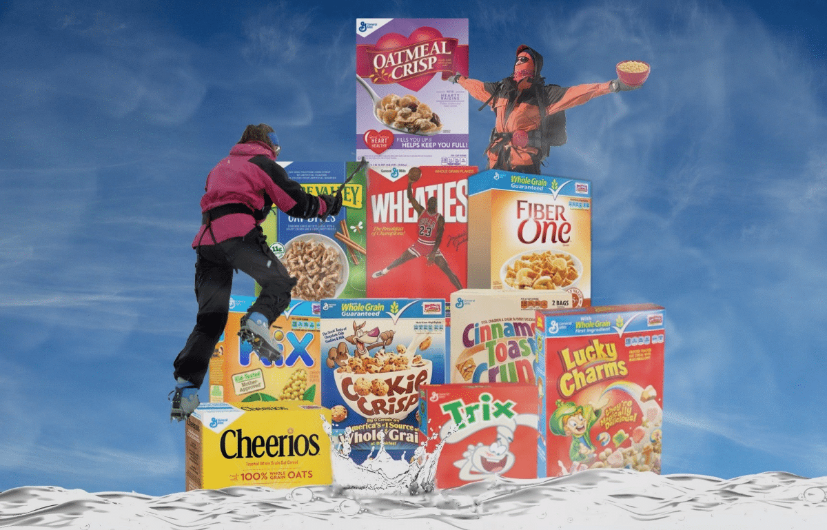 Brand Psychology — General Mills Cereals with the Most Adventurous Customers