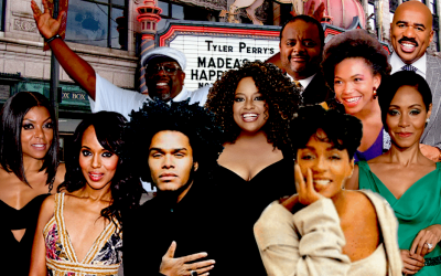 StatSocial Digital Tribes — Tyler Perry's Empires & Scandals