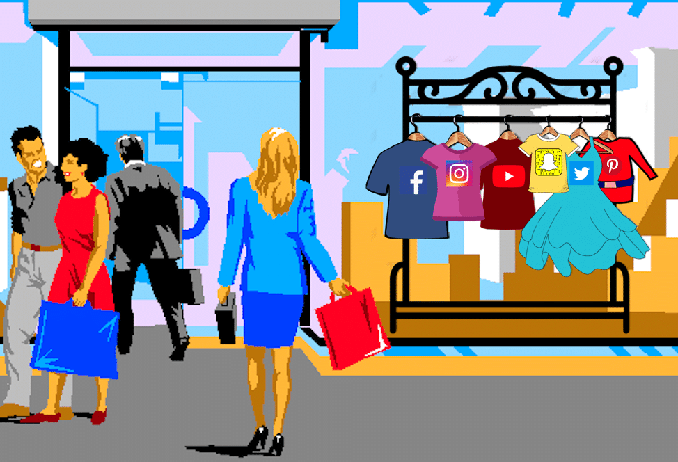 Social Audience Attribution – What Apparel Brands Do Facebook, Instagram, Pinterest, Snapchat, Twitter, and YouTube Users Buy?