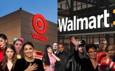 Target vs. Walmart Shoppers – Celebrity/Influencer Identification and Attribution