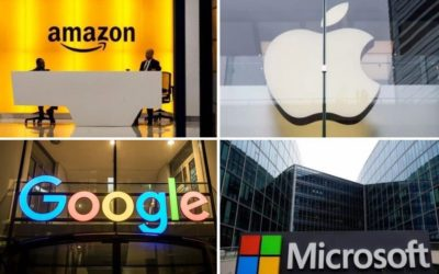 (B2B Data) Amazon, Apple, Google, & Microsoft – Employee Demographics