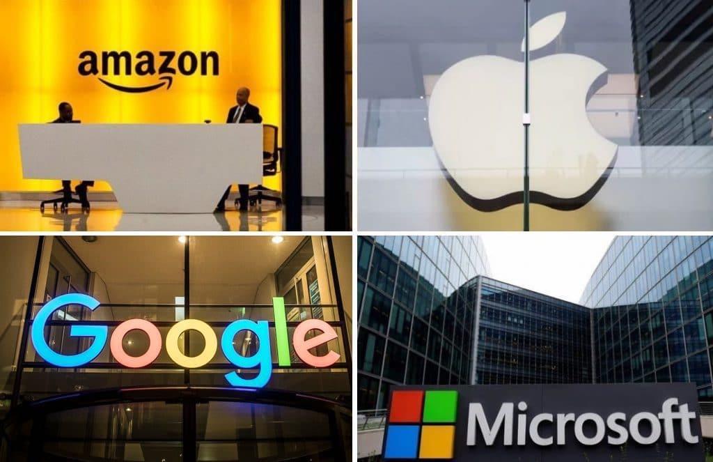 (B2B Data) Amazon, Apple, Google, & Microsoft – Employee Demographics