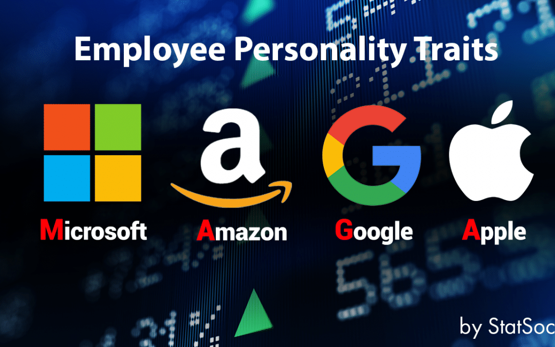 The Personalities of 4 Tech Giants' Employees